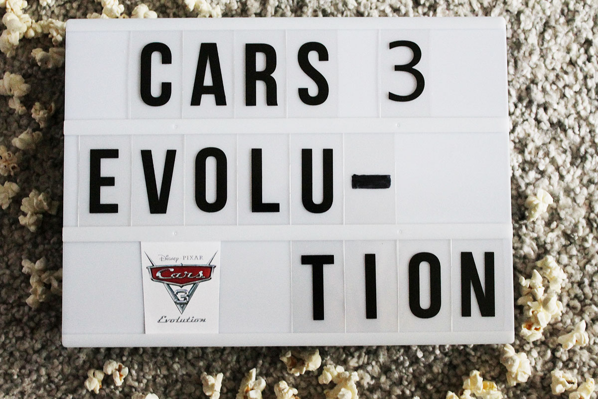 Filmkritik: Cars 3 - Evolution